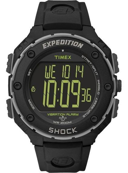 Relógio Timex Expedition Xl Shock Alarme Vibratório
