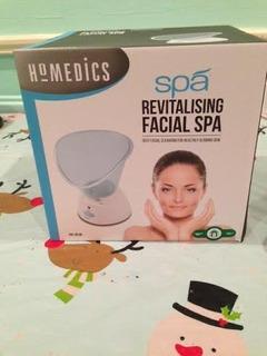 Homedics Facial Spa Limpieza Facial Profunda Fac-2b-sr-mx