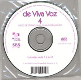 De Viva Voz 4 - Cd Audio - Sgel