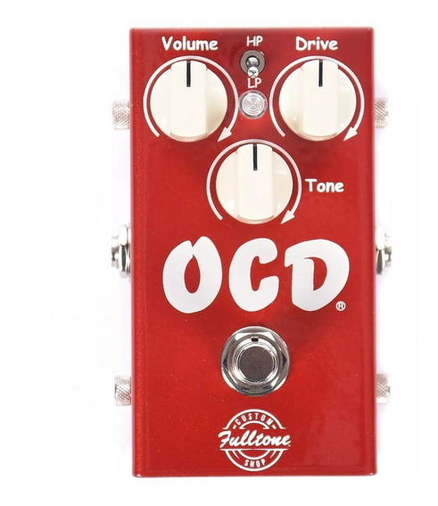 Pedal Ocd Fulltone V2 Car Limited Edition Custom Shop C/ Nfe