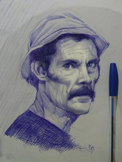 Retratos Y Cuadros Pintados A Mano Ya!!!