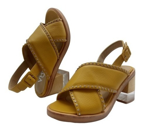 Sandalias Plataformas Combinada Cuero Zapatos Moda 352va