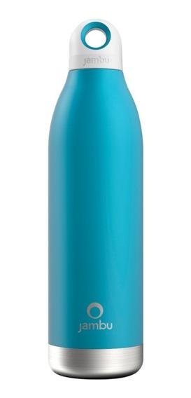 Termo / Botella Térmica Jambu De 550 Ml/18 Oz, Color Azul.
