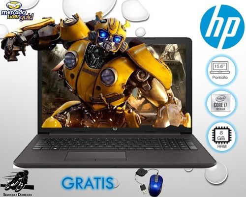 Imagen 1 de 6 de Laptop Portátil Hp Core I7 10ma 8gb 1000gb 15.6