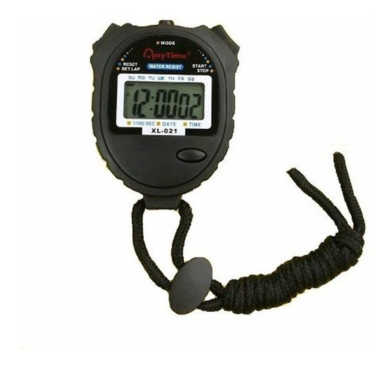 Cronômetro Mão Digital Corrida À Prova D