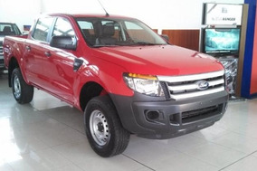 Nueva Ford Ranger Xl Safety 4x2 Cabina Doble 0km Entrega Ya