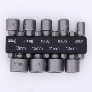 Zócalo De Métricas 6mm-14mm Vástago Hexagonal Broca De 1/4