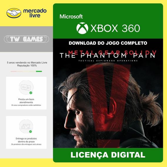 Metal Gear Solid V The Phantom Pain Xbox 360 Digital