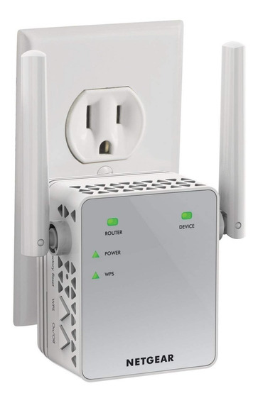 Repetidor Wifi Amplificador Extensor Red Netgear Ac750 Ex370