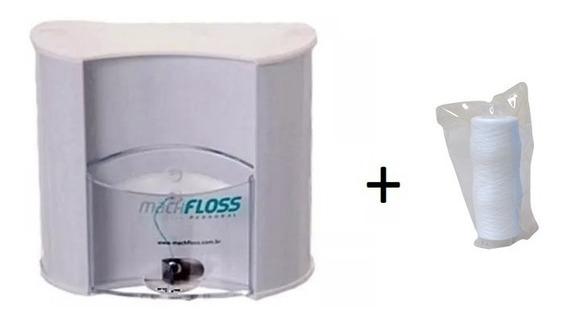 Dispenser De Fio Dental Machfloss Suporte Bucal Com Fio