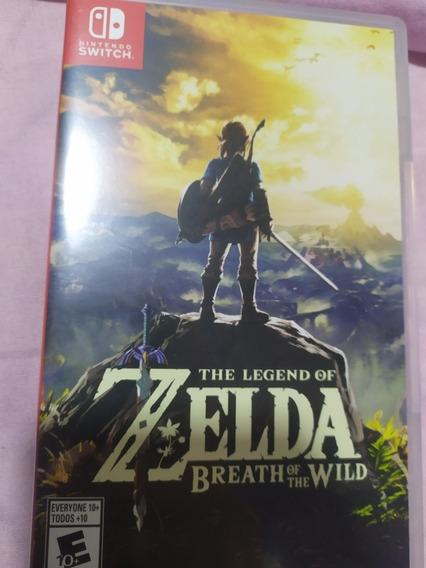 Legend Of Zelda Breath Of The Wild - Switch - Mídia Física