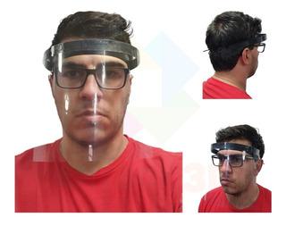 Proteção Para Rosto Transparente Viseira Full Face Máscara