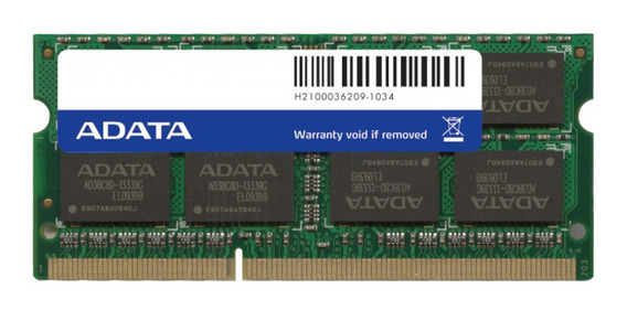 Memoria RAM 4GB 1x4GB Adata AD3S1333W4G9-S
