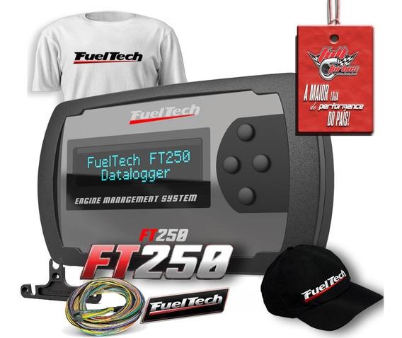 Fueltech Ft250 3 Metros + Brindes+ 12x S/juros