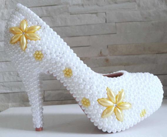 Sapato Customizado Pérola