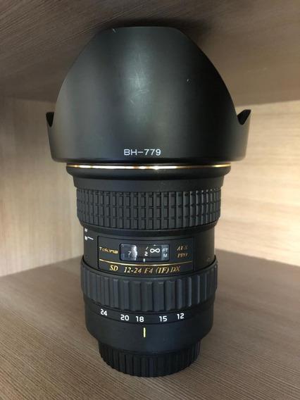Lente Objetiva Tokina At-x 12-28mm F4 Pro Dx P/ Canon
