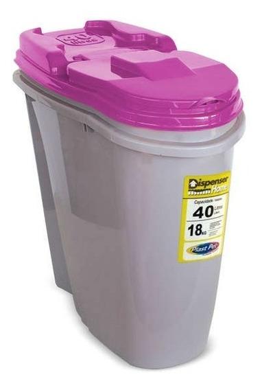 Porta Ração Dispenser Home Plast Pet 15kg A 18kg De Ração