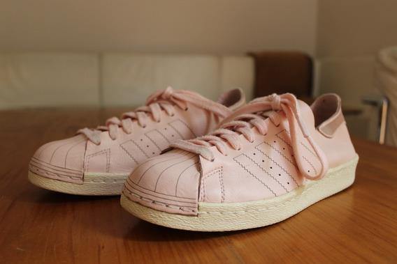 adidas Superstar Originals Decon 80s Cuero Rosa 36 - Sin Uso