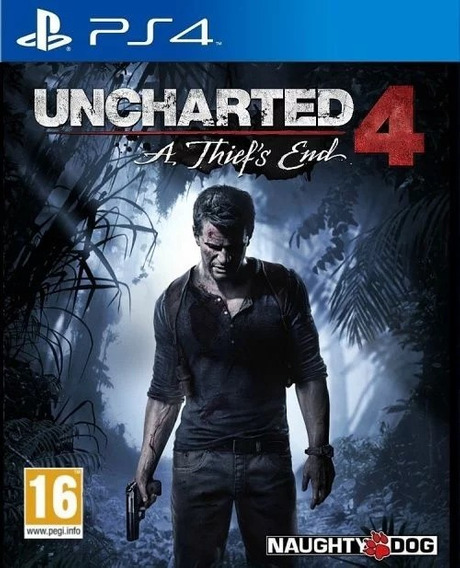 Uncharted 4: A Thief´s End - Ps4 Midia Digital