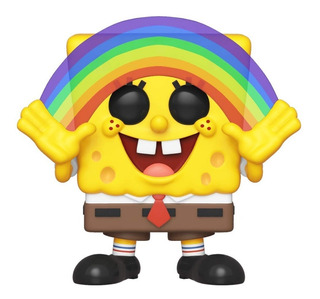 Muñeco Funko Pop Bob Esponja Rainbow Arcoiris 558 Original!!