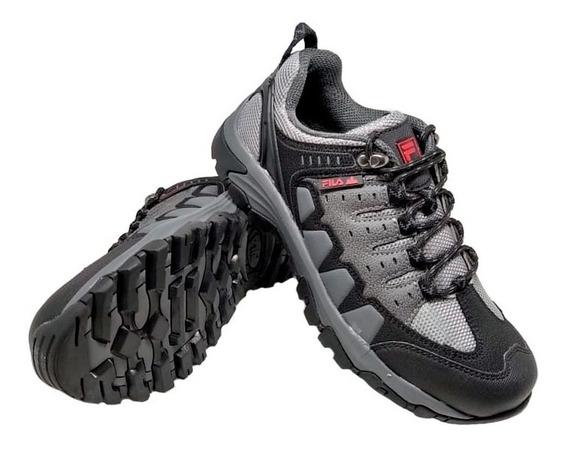 Zapatillas Fila Hombre Black Rock Trekking 759761 Eezap