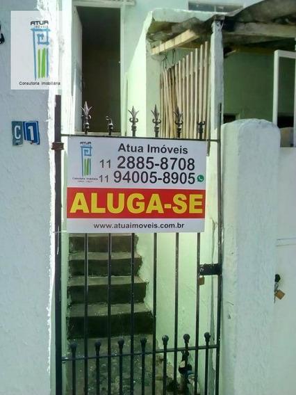 Casa Com 1 Dormitório Para Alugar, 45 M² Por R$ 800/mês - Vila Amália (zona Norte) - São Paulo/sp - Ca0230