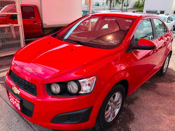 Chevrolet Sonic 1.6l Lt Tm5 2016 Credito Recibo Financiamien