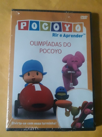 Dvd Pocoyo Rir E Aprender - Olimpíadas Do Pocoyo