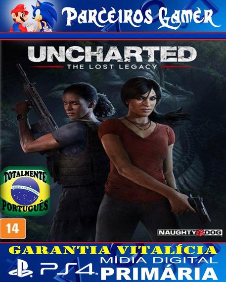 Uncharted - O Legado Perdido - Ps4 1 Português Mídia Digital