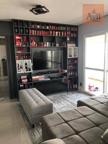 Cobertura Com 4 Dormitórios À Venda, 210 M² Por R$ 2.600.000,00 - Vila Carrão - São Paulo/sp - Co0082
