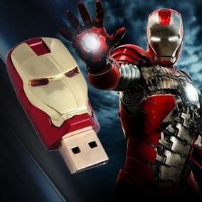 2 Unid. Pendrive - Iron Man - Homem De Ferro - 32gb
