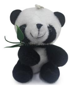 Mini Chaveiro Urso Panda Jogo De 10 Peças - Lembranças