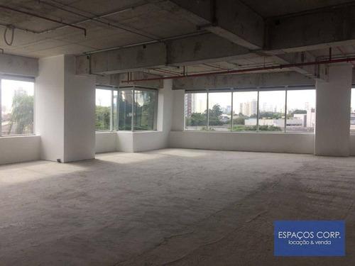 Imagem 1 de 25 de Conjunto Comercial Para Alugar, 258 M² Por R$ 14.190/mês - Chácara Santo Antônio - São Paulo/sp - Lj0676