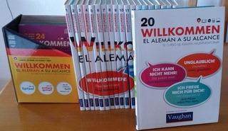 Curso De Alemán Willkommen - Vaughan + Regalo