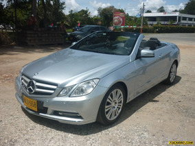Mercedes Benz Clase E 200 Cgi Cabrio