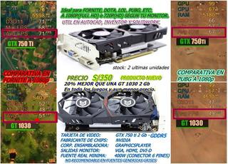 Tarjeta De Video Gtx 750 Ti 2gb Gddr5 Original