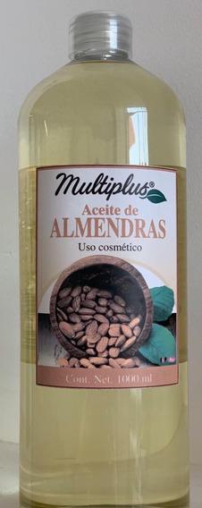 Aceite Multiplus De Almendras Dulces 1 Lt