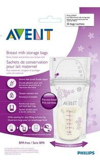 Bolsas Avent Pre Esterilizadas Para Congelar Leche Materna