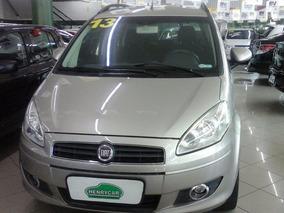 Fiat Idea 1.4 Flex 2013 Attractiv Completo Prata - Henrycar