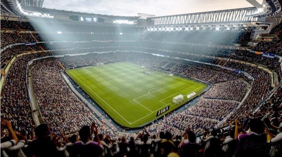 Fundo Fotográfico Tecido Estádio De Futebol 3,0x1,70m