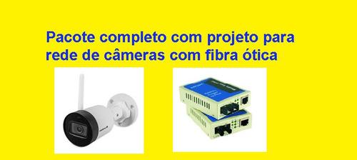 Imagem 1 de 1 de Projeto Completo De Rede Fibra Ótica Ftth