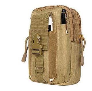 Zeato Tactical Molle Bolsa Edc Utility Gadget Belt Waist Bag