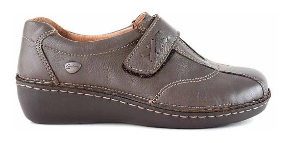 Zapatilla Mujer Cuero Cavatini Zapato Confort Moda Mczp05064