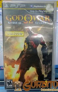 God Of War Ghost Of Sparta Psp En Gordito Coleccionables