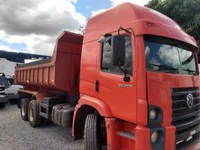 Vw 24250/10/11 Vermelho Truck Caçamba Leito
