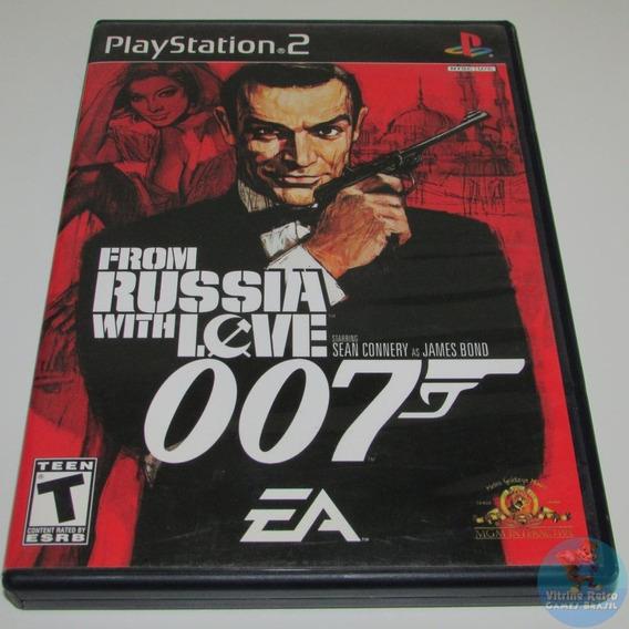 Ps2 007 From Russia With Love Original Completo Americano !!