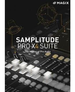 Magix Samplitude Pro X4 Suite + Contenido Para Windows