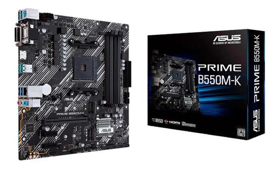 Motherboard Asus Prime B550m-k Amd Ddr4 Am4 Ryzen Nickhard