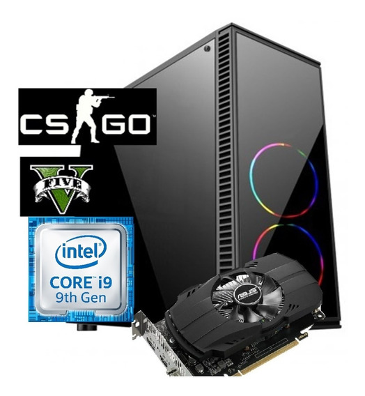 Pc Gamer Top Core I9 9900k 32gb Ssd 480gb Gtx1060 Fonte 850w