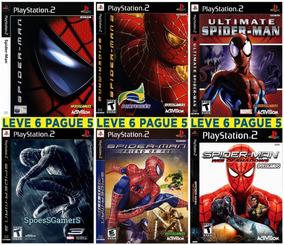 Homem Aranha - Spider-man Ps2 Coleção (6 Dvds ) Patch Me